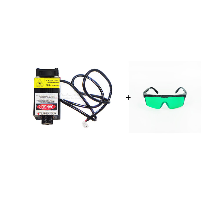500mw/2500mw/5500mw blue light Laser Module 450NM Focusable power supply Laser Head Laser Tube with protective eyewear цена и фото