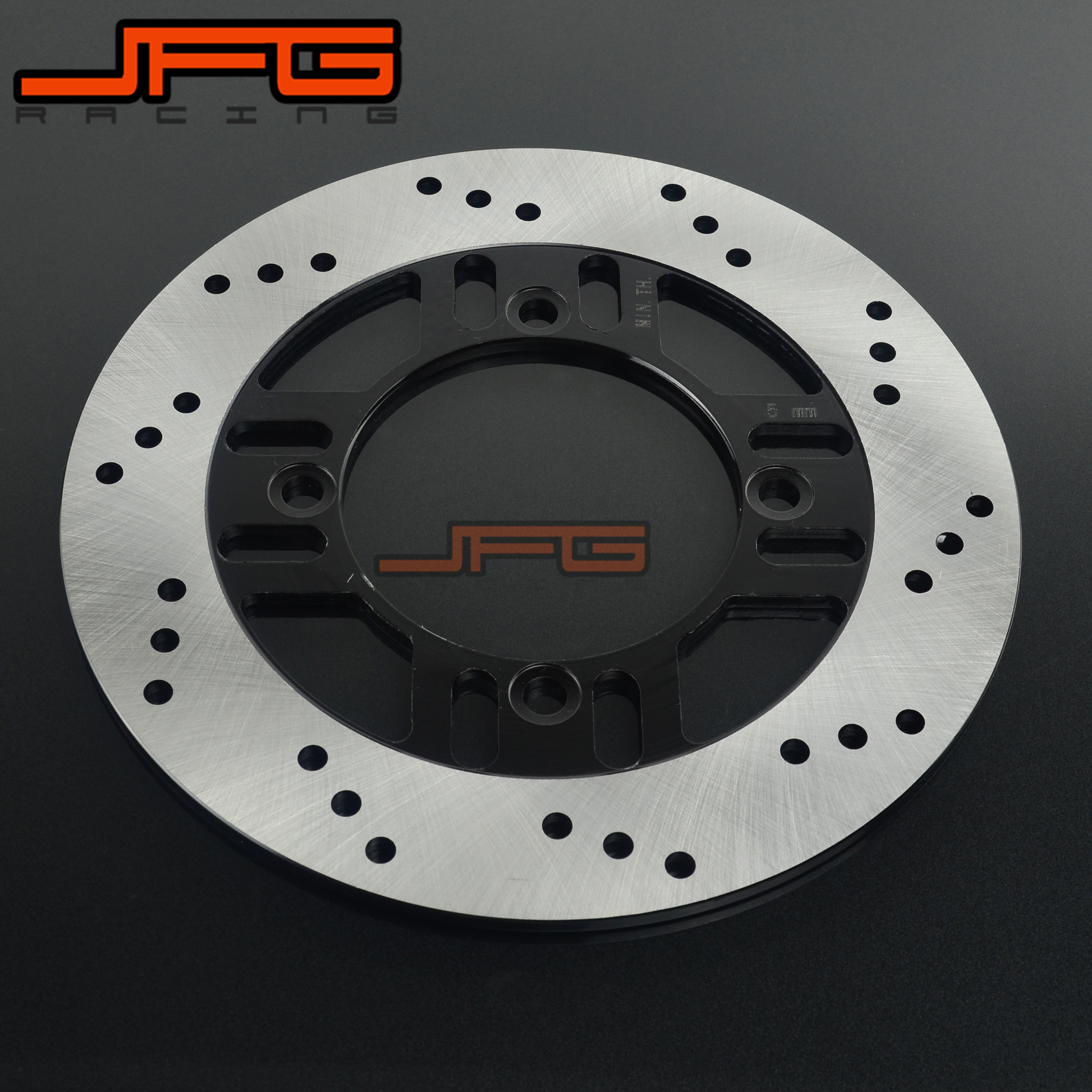 Motorcycle Outer Diameter 240mm Stainless Steel Rear Brake Disc Rotor For KAWASAKI ZXR400 89-94 ZXR-4 ZR400 ZR550 ZZR400 ZZR600 for honda nc700 nc750 ctx700 nm4 vultus motorcycle accessories rear wheel brake disc rotor od 240mm stainless steel