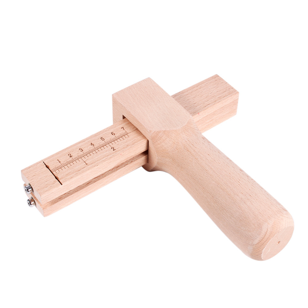Professional Adjustable Wood Strip and Strap Cutter Leather Craft Tool DIY Hand Cutting Tools 2016 one soap mold loaf cutter adjustable wood and beveler planer cutting tool set