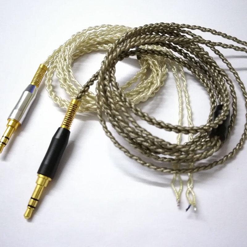 1 шт. кабель для наушников Сделай Сам 3,5 мм кабель нити аудио наушники обслуживание провода наушники Ремонт для гарнитуры