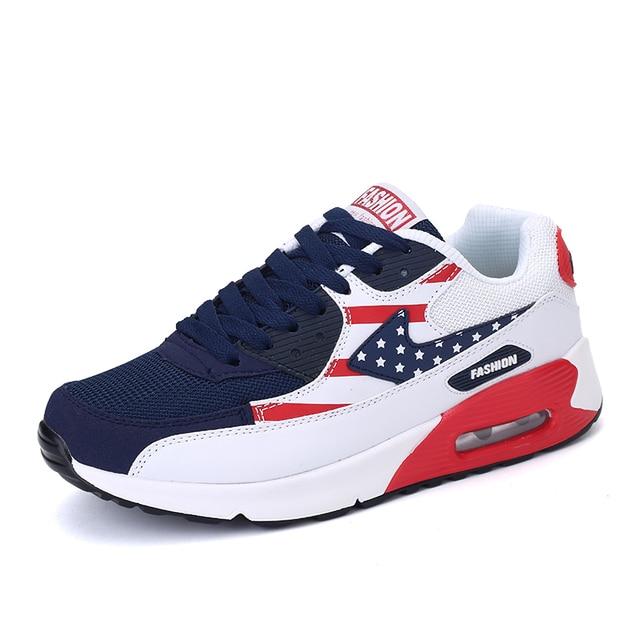 2017 Men Casual Shoes High Quality Fashion men Sport Trainers Shoes Breathable unisex Walking jogging zapatillas leisure shoes
