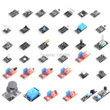 37 IN 1 SENSOR KITS FÖR ARDUINO HÖG-KVALITET GRATIS SÄNDNING (Works with Official for Arduino Boards)