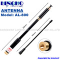 AL-800 Антенна 144/430 МГц Sma телескопическая антенна для YAESU VX-2R TONGFA УФ-985 walkie talkie Антенна AL800