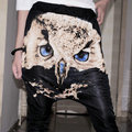 2013 New Fashion design Jazz harem women hip hop pants dance loose plus size owl trousers casual personalized Costume sweatpants