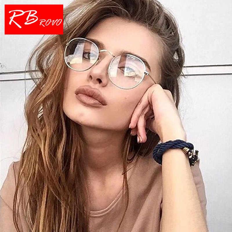 91dde21a06 ... RBROVO 2019 De Metal De moda Gafas De Sol De las mujeres Vintage De  diseñador De ...