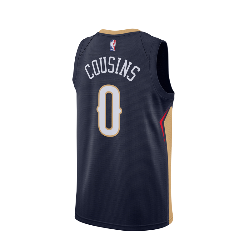 new styles 5cf53 a4135 Original NBA Jerseys Men s New Orleans Pelicans NO.0 DeMarcus Cousins Nike  Navy Swingman Jerseys-in Basketball Jerseys from Sports   Entertainment on  ...