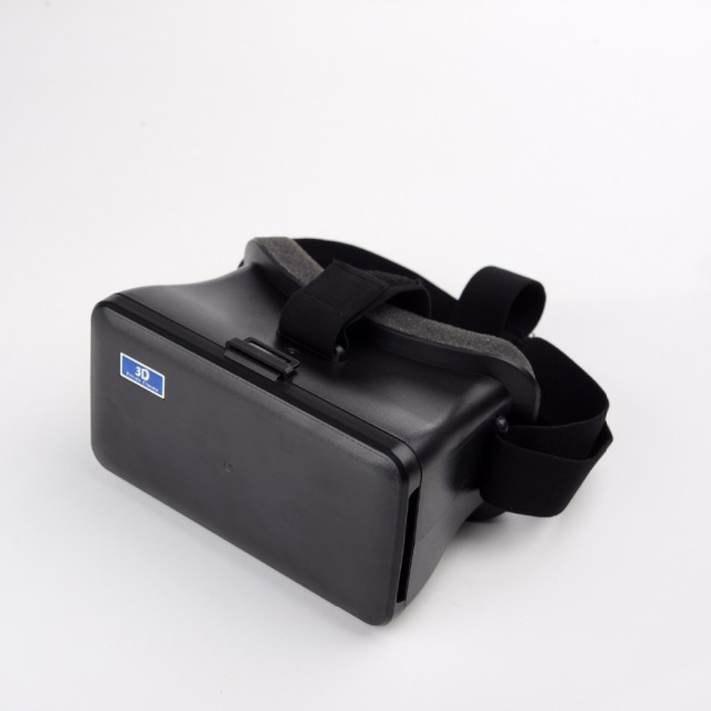 "Free shipping New Cardboard VR Box, Head Mount Plastic Virtual Reality 3D Video Glasses Headset for iPhone 7 6S plus 5.5""-6.4"""