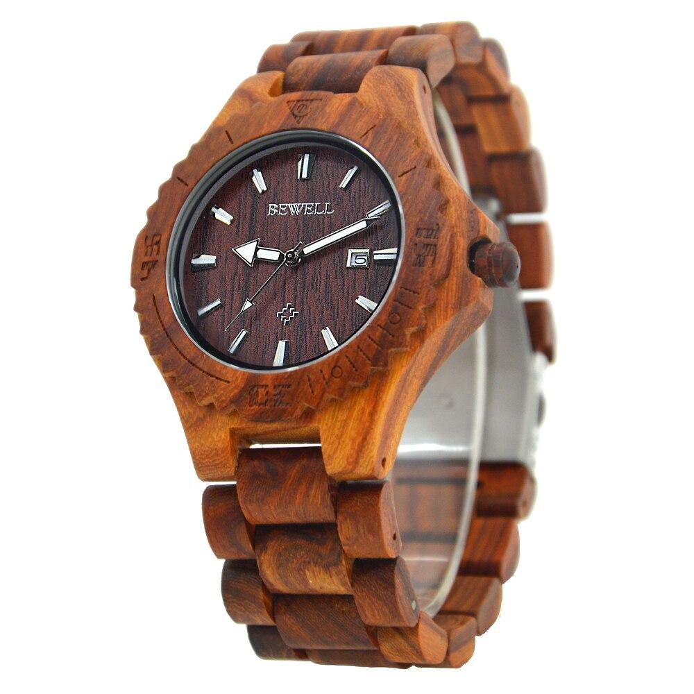 BEWELL Business font b Watch b font Men 2016 Brand Luxury Clock Men Auto Date Quartz