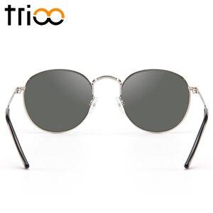 Image 5 - TRIOO  Nearsighted Driver Black Anti Glare Sunglasses Diopter Classic Myopia Glasses Women Retro Style Prescription Eye glasses