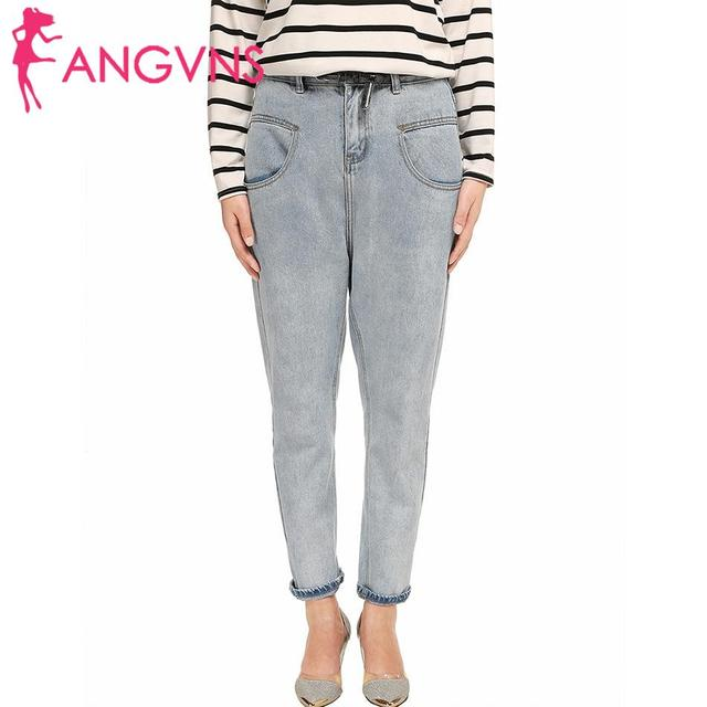 Pants Relaxed Jeans Women Straight BOYLYMIA blue neutral Bootcut Light