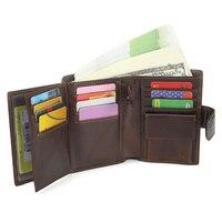 PU Unisex Business Card Holder Wallet Bank Credit Card Case ID Holders Women Cardholder Porte Carte