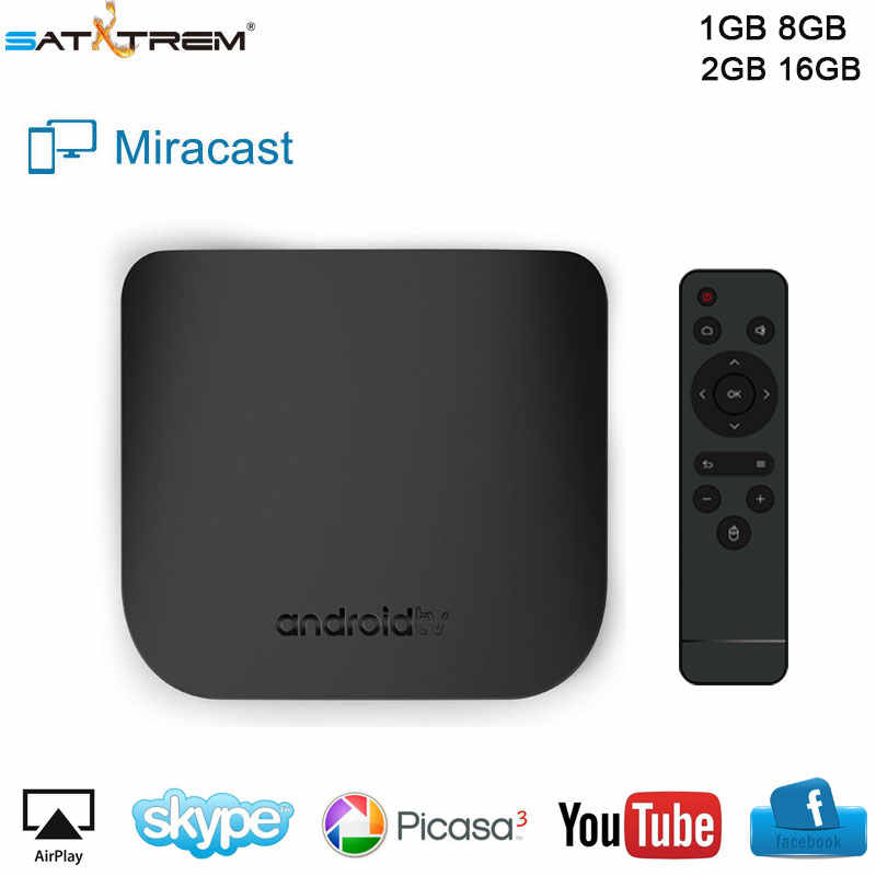 Mecool M8S Plus W Android 7.1 Smart TV BOX 1G/2G Ram 8G/16G ROM S905W 2.4G Wifi Digital Set Top Box H.265 4K 1080P Media Player