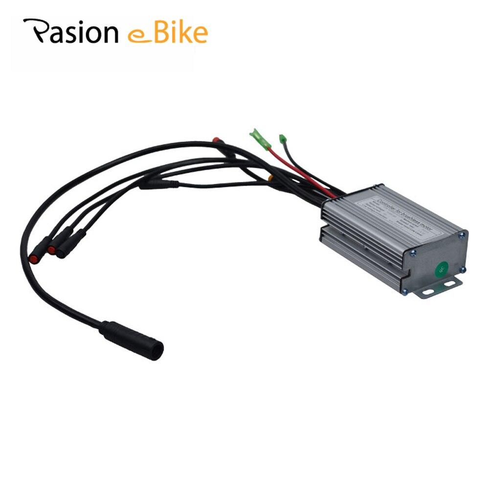 Цена за PASION E ВЕЛОСИПЕД 36 В и 48 В 350 Вт Электрический велосипед Бесщеточный Контроллер Синусоида для Sondors eBike контроллер