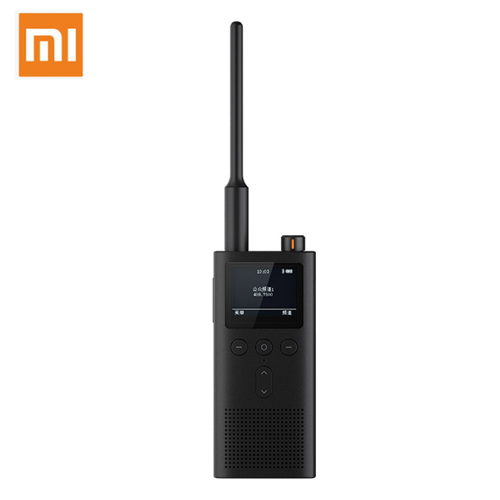 Original Xiaomi Mijia Walkie-talkie 2 IP65 Waterproof And Dust-proof Portable Outdoor Radio Transceiver UVHF Dual Band Interphon