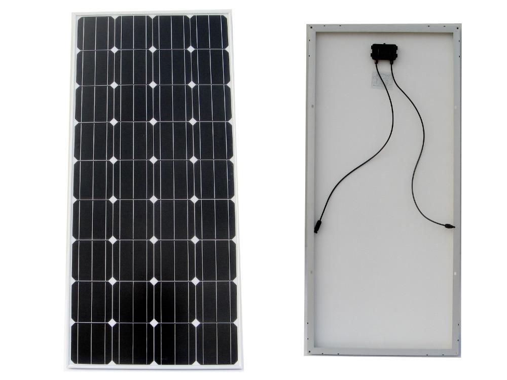 цена на USA Stock No tax No duty 150W 12V RV Mono Monocrystalline Solar Panel Solar Module for RV Boat Home Battery Charger
