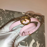 2019 Fashion Brand Luxury Gold Leather Bracelet For Women Designer Jewelry Pink Black Blue Green Bangles Bijoux Gift