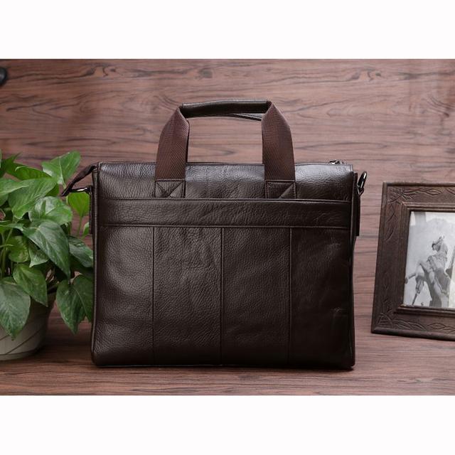 Leather Men Messenger Bag