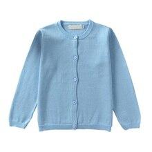 Здесь можно купить   Autumn Winter Boys Girls Candy Color Knitted Cardigan Sweater Kids Cotton Baby Children Clothing Outerwear  Children