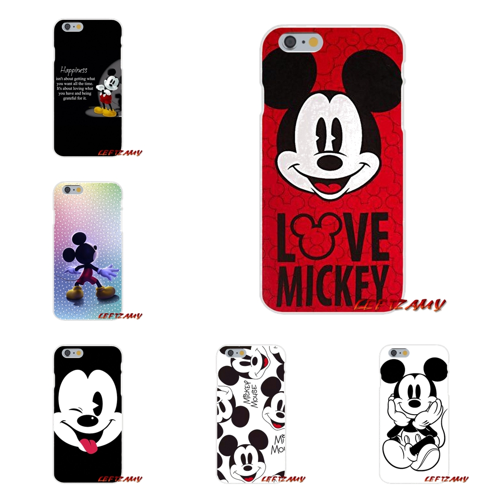 Accessories Phone Cases Covers For Xiaomi Mi6 <font><b>Mi</b></font> 6 A1 Max Mix 2 5X 6X Redmi Note 5 5A 4X 4A <font><b>A4</b></font> 4 3 Plus Pro Mickey Mouse image
