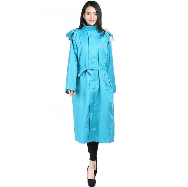 Fashion Hooded Raincoats for Women Men waterproof Long trench Top quality PVC single person Rainwear size S-3XL free ship C92102
