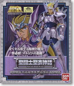 Bandai Model Saint Seiya (Black/Hades/Dark) Perseus Argor Persus Argol Cloth Myth Metal Armor Medusa Shield