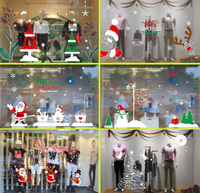 2016 Hort Santa Claus Hat Chair Covers Christmas Dinner Table Party Christmas