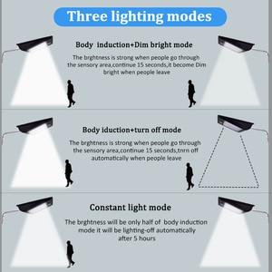 Image 5 - Hohe Qualität Power Outdoor IP65 1000 Lumen 81 Leds integrierte solar straße licht Motion Sensor Solar Lampen