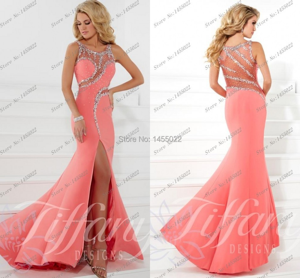 Popular Backless Crystal Prom Dresses 2016-Buy Cheap Backless ...