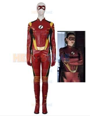 The Flash Season 3 Jesse Quick Female Superhero Costume