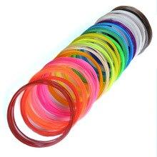 100 Meters 10 colors 1.75MM PLA Filament For 3D Printing Pen