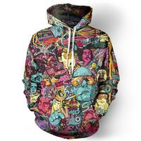 7XL Fear And Loathing Hoodie Men Women Autumn Sportswear Tracksuit Casual 3D Plus Size Clothing Pullover Hoody Tops