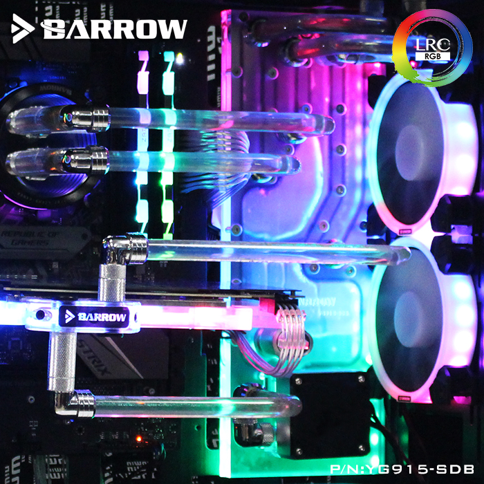 Barrow YG915-SDB, Waterway Boards For IN WIN 915 Case, For Intel CPU Water Block & Single/Double GPU Building цена и фото