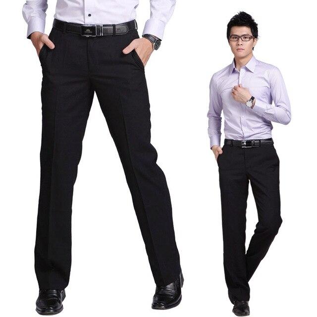 ПРОДАЖА Высокое Качество 2016 Новый Бренд-одежда Мужские Брюки Slim Fit Костюм Брюки мужские Деловые Брюки Узкие брюки Оптовая