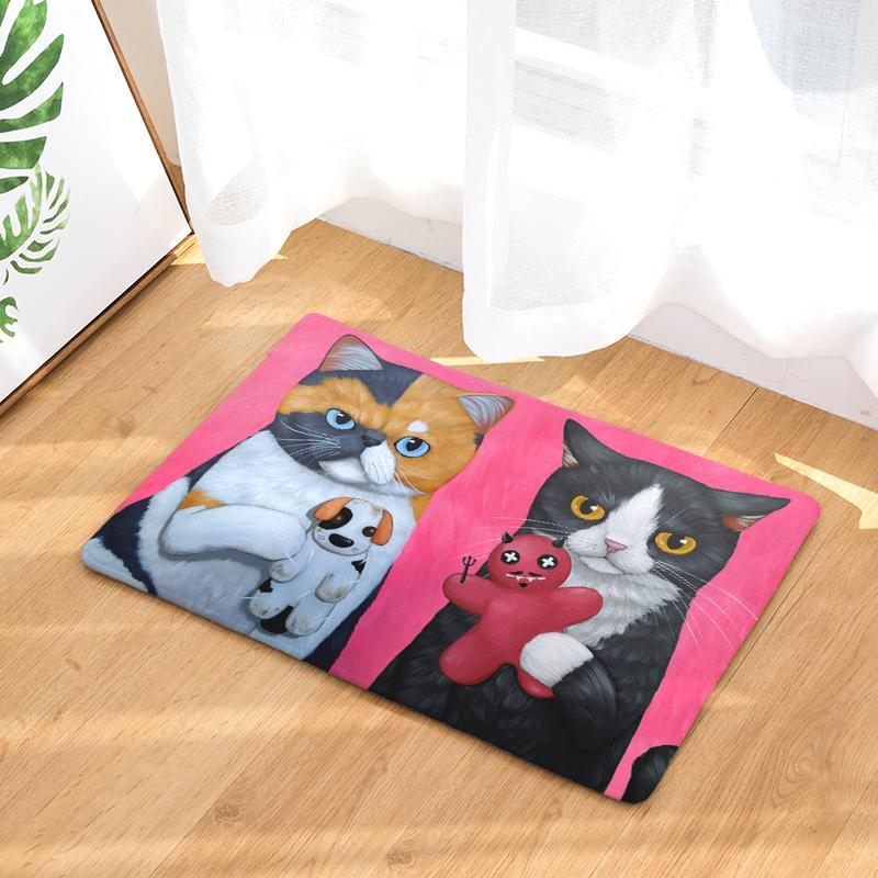 Decorative Cat Floor Mats