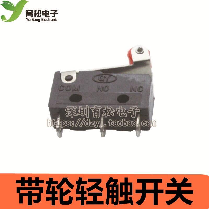 10 шт. концевой выключатель, 3 Булавки N/O n/c высокое качество все новые 5A 250vac kw11-3z микро-переключатель