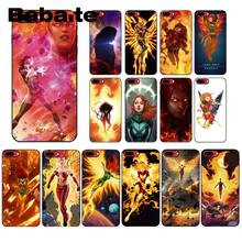 Babaite X man Jean Grey Phoenix Newly Arrived Black Phone Case for Apple iPhone 8 7 6 6S Plus X XS MAX 5 5S SE XR Mobile Cases(China)