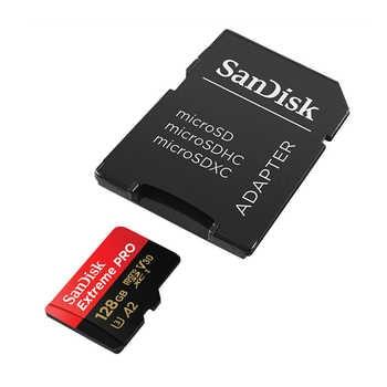 SanDisk Extreme Pro Micro SD Card 128GB 32GB 64GB 256GB 400GB U3 4K Memory Card 32 64 128 gb Flash Card SD/TF MicroSD for Phone
