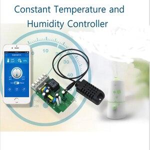 Image 5 - Sonoff Th16 Th10 przełącznik monitorowania temperatury i wilgotności WiFi termostat inteligentny przełącznik, moduł automatyki domowej za pośrednictwem Google Home