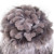 QUEENFUR Genuine Malha Rex Chapéu de Pele de Coelho Com Pele De Raposa flores Gorros Super Elástico Com Forro de Inverno Mulheres Pele Quente Cap