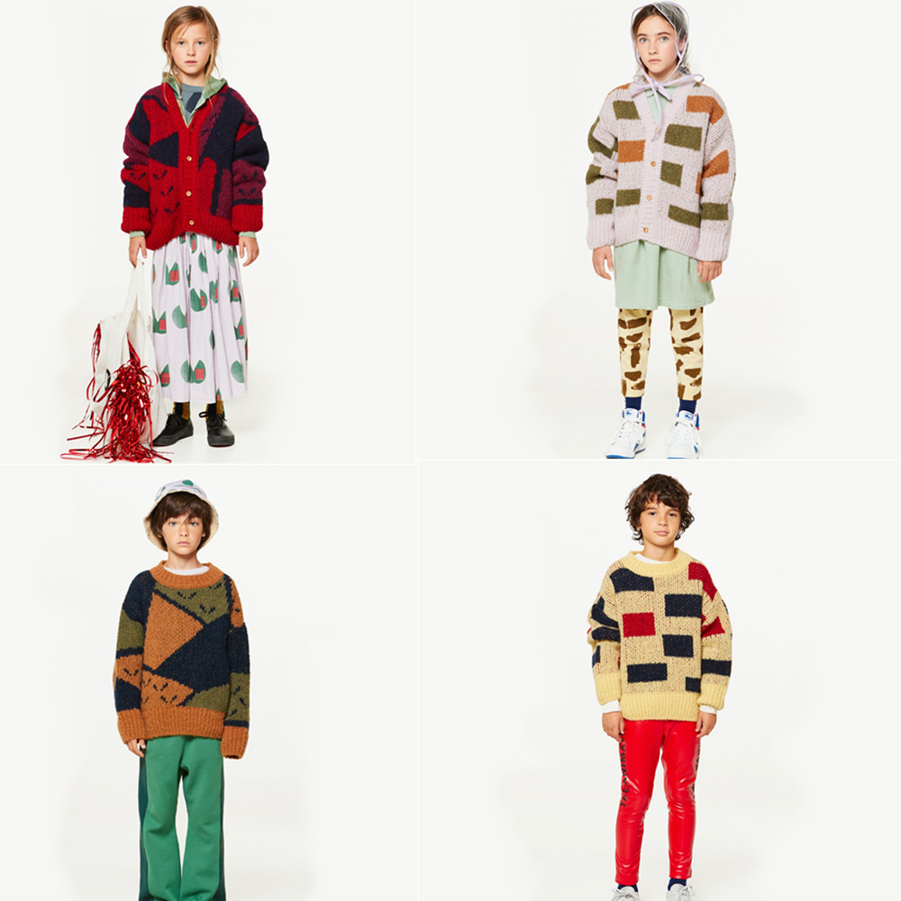 392c29c0426 2018 INS HOT GIRLS CLOTHING BOYS CLOTHING KIDS BOBO CHOSES TAO sweaters  boys clothes girls clothes