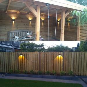 Image 5 - Lampe déclairage murale LED pour décoration intérieur et extérieur, appareil en aluminium pour jardin, chevet de chambre et maison, étanche IP65, 6 W/10 W