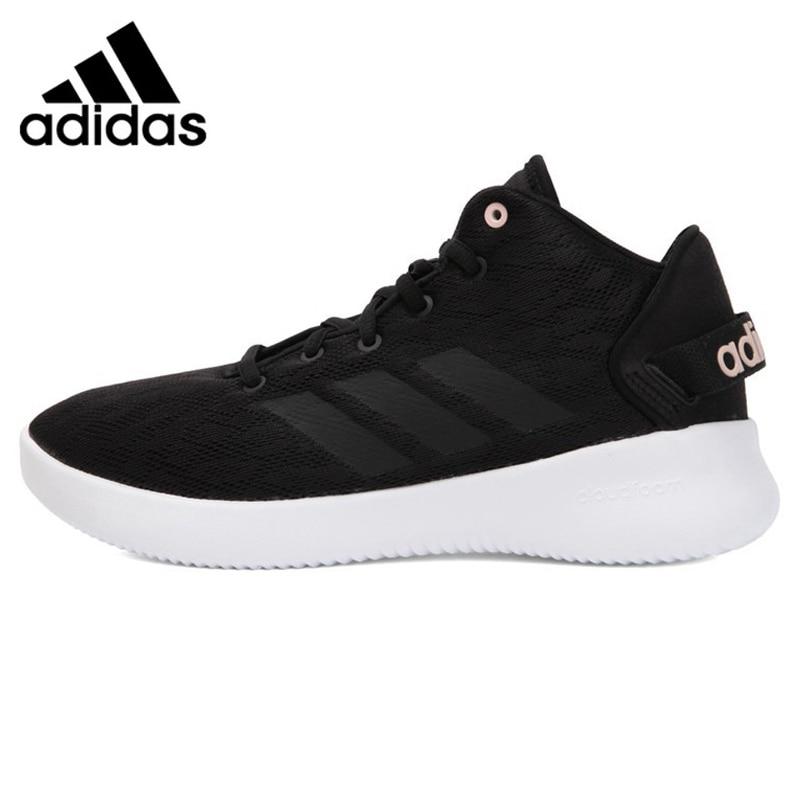 Adidas Neo CF REFRESH MID Women's Running Shoes, Black Grey, Non-slip Abrasion Resistant Lightweight BC0011 CG5717 термоноски guahoo sport mid weight 150 cf bk