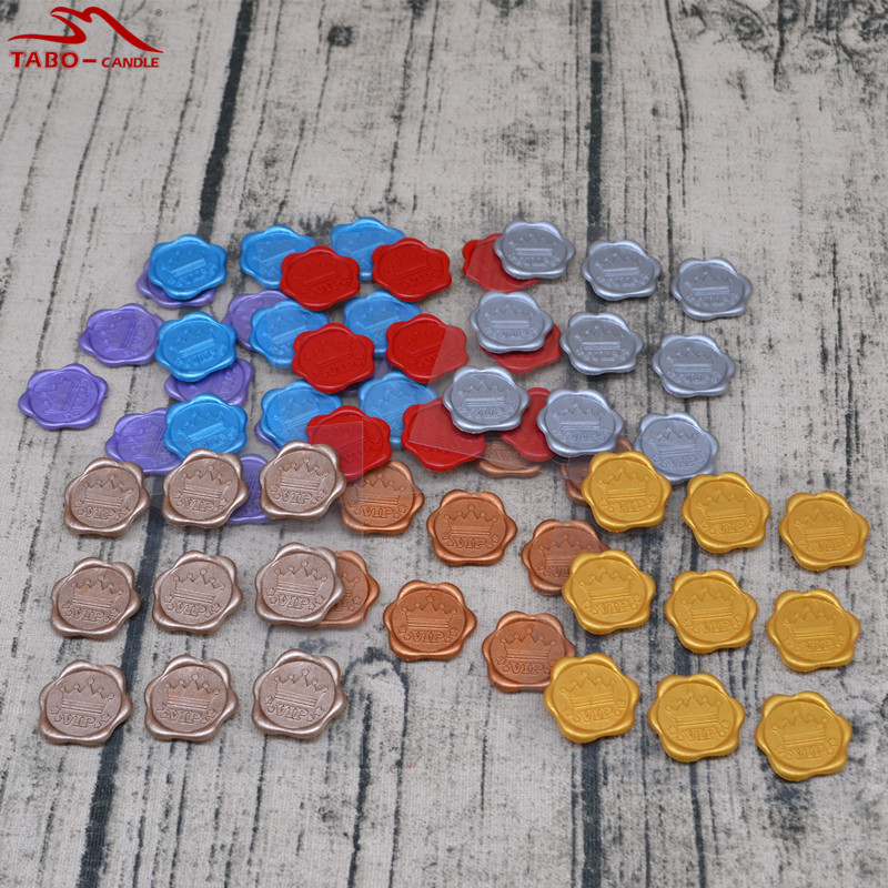 High Quality Self Adhesive Wax Seal Stickers 7 Bags/set In Mixed 7 Colors for Greeting Card Wedding Invitation Decoration 1pc white or green polishing paste wax polishing compounds for high lustre finishing on steels hard metals durale quality