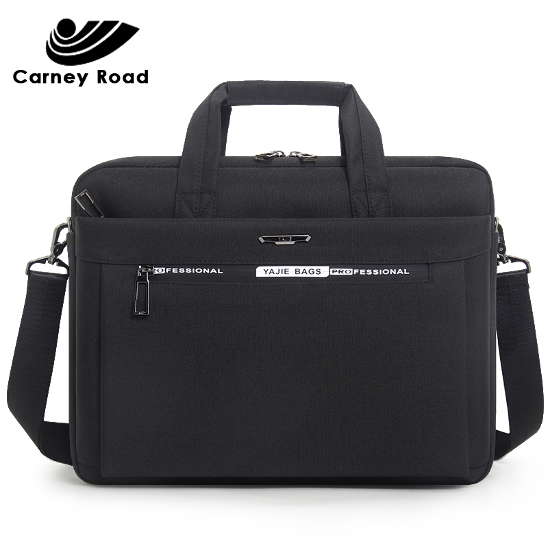 2019 Brand Men's Briefcase Bag Oxford Waterproof 15.6 Inch Laptop Bag Men Business Handbag Document Office Messenger Bag For Men
