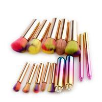 New 10pcs Cosmetic Makeup Brush Blusher Eye Shadow Brushes Set Kit Cosmetic Makeup Brush Set Makyaj