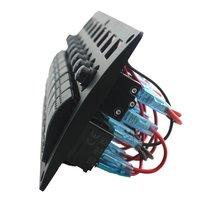 8p Plastic Panel Switch Overload Protector Rocker Switch Panel Overload Protector 8P Plastic Switch Panel