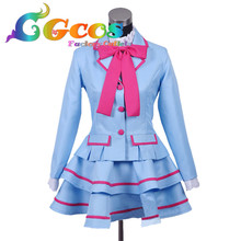CGCOS Free Shipping Cosplay Costume Smile Pretty Cure Suite PreCure Winter School Uniform New in Stock Halloween Christmas Party(China)