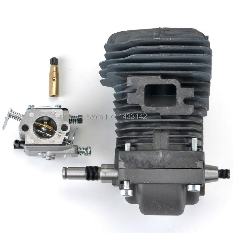 New Cylinder Piston Crankshaft Carburetor for Stihl 023 025 MS 230 MS 250 Chainsaws Motosierra Motor Engine 42.5mm