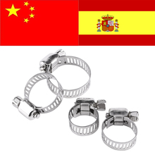 Adjustable Screw Band Worm Hose Clamps Stainless Steel Pipe Clips collier serrage durite auto slangklem