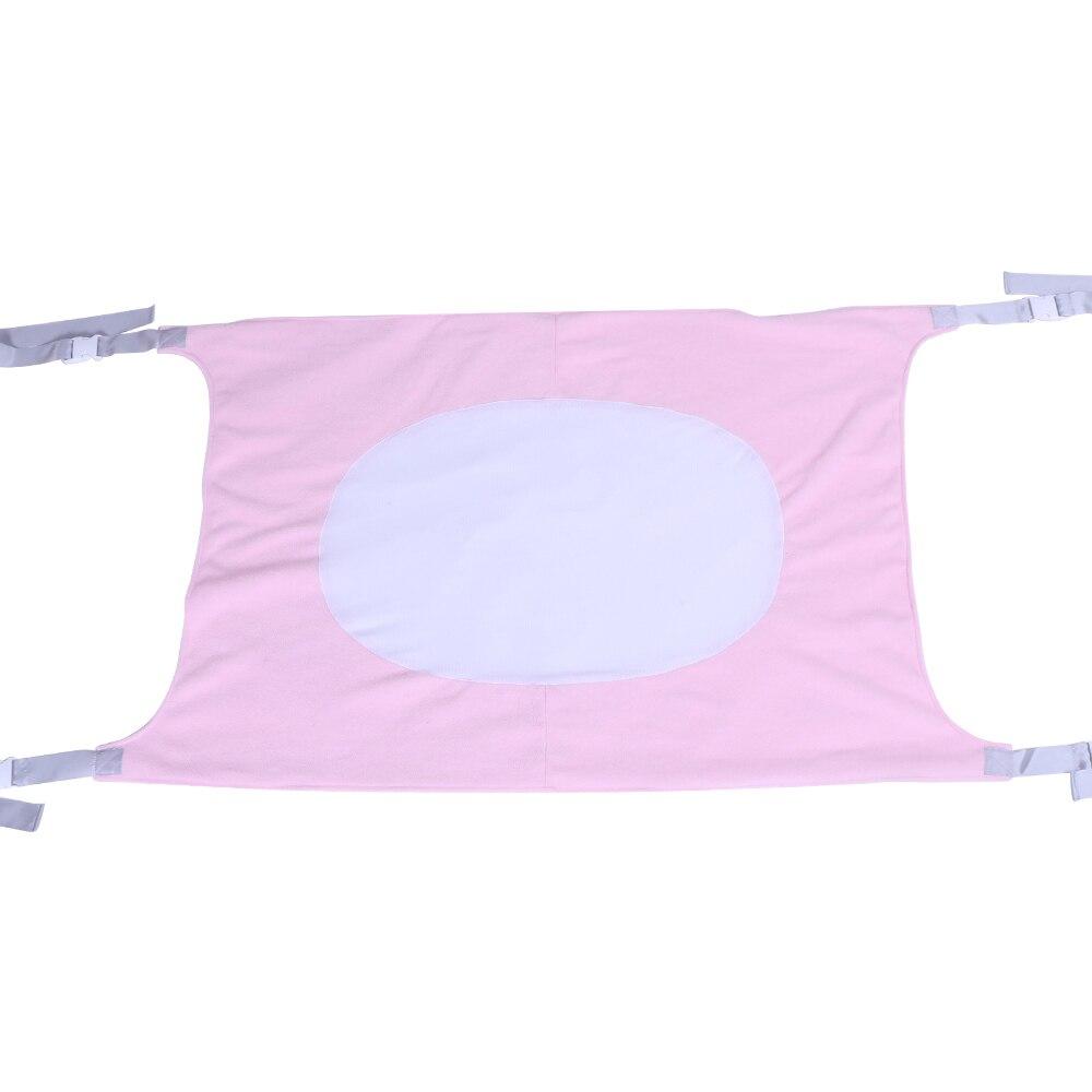 Большой размер, качественная детская безопасная кровать, дышащий и прочный материал, детский гамак, съемная переносная детская кроватка - Цвет: Pink